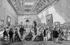 Opening of the McArthur Gallery in 1875, now home to the State Library of Victoria's painting collection