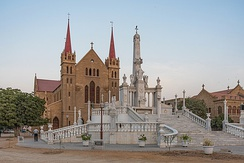 St. Patrick's Cathedral, built in 1881, serves as the seat of the Archdiocese of Karachi.