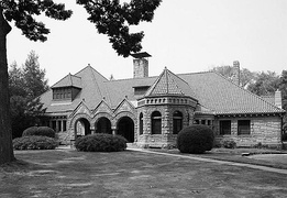 Pequot Library in Southport, 1966