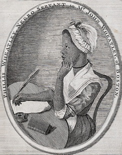 Phillis Wheatley, a slave, wrote poetry during the Colonial Period.