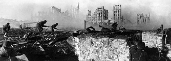 The Battle of Stalingrad is considered by many historians as a decisive turning point of World War II
