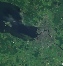 Territory of the federal subject of Saint Petersburg
