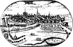 Stargard in the 17th century