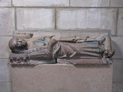 Tomb of Ermengol IX of Urgell (died 1243)