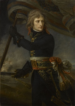 Bonaparte at the Bridge of Arcole in 1796 by Antoine-Jean Gros