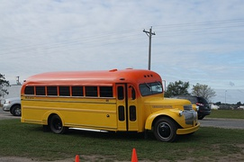 1946 Chevrolet school bus restored and customized