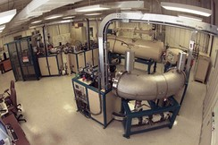 Measuring 14C is now most commonly done with an accelerator mass spectrometer
