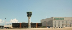 Control tower and hangars
