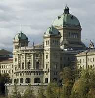 The Federal Palace, seat of the Federal Assembly and the Federal Council