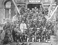 Japanese marines who served in the Seymour Expedition