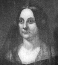 Portrait of Caroline Fillmore looking to her right