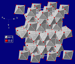 Crystal structure of sapphire