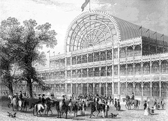 The Crystal Palace, where several early Sullivan works were first performed