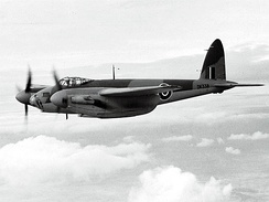 De Havilland DH-98 Mosquito was made of curved and glued veneers