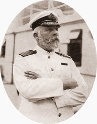 Edward Smith, captain of Titanic, in 1911