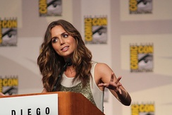 Albanian-American actress Eliza Dushku produced the documentary Dear Albania[293] with a crew from Travel Channel and Lonely Planet, promoting tourism in Albania.