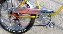 Huffy Flaming Stack chain Guard