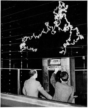 FM has better rejection of static (RFI) than AM.  This was shown in a dramatic demonstration by General Electric at its New York lab in 1940. The radio had both AM and FM receivers.  With a million-volt arc as a source of interference behind it, the AM receiver produced only a roar of static, while the FM receiver clearly reproduced a music program from Armstrong's experimental FM transmitter in New Jersey.