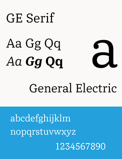 GE Serif (used since 2014)