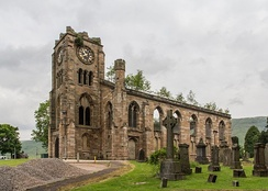 Lennoxtown church, built in the 1820s