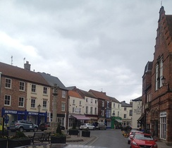 Howden town square