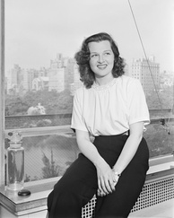 Jo Stafford, 1946Photograph by William P. Gottlieb