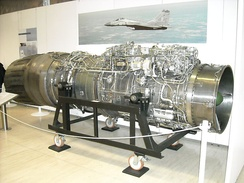 RD-33 on display at the Air Force Museum of the Bundeswehr