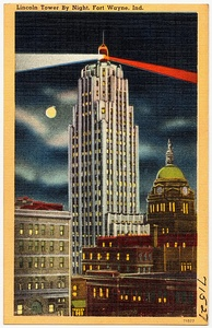 The Lincoln Bank Tower was completed as Indiana's tallest building in 1930.