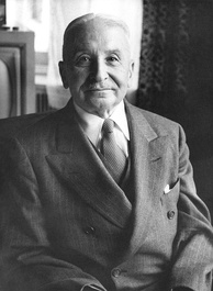 Ludwig von Mises, who described state capitalism as a form of state socialism