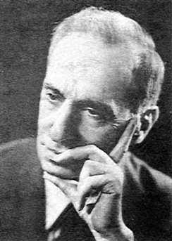 Michel Aflaq, the founder of Ba'athist thought, who, after the Ba'ath Party splintered, became the chief ideologist for the Iraqi-dominated Ba'ath Party.