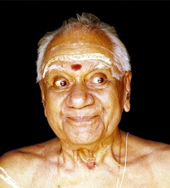 Sringara, one of the nine facial expressions mentioned in Natyasastra