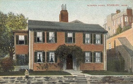 Munroe House, built in 1683, as seen in 1905