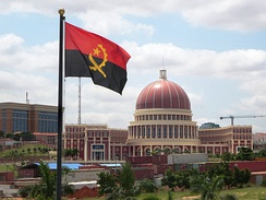 The National Assembly of Angola.