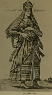 The Valide Sultan (Sultana mother) of the Ottoman Empire