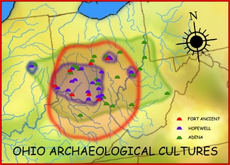 Ohio Archaeological Cultures of the Woodland and Late Prehistoric periods