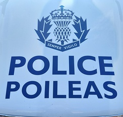 Police Scotland vehicle logo (Bilingual)