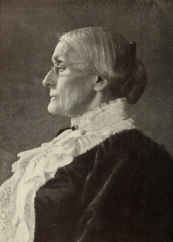 Susan B. Anthony in 1900