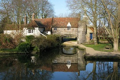 Pulls Ferry, once a 15th-century watergate