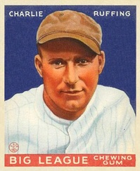 Red Ruffing Goudey Card
