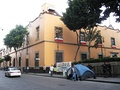 Former Main Senate Chambers at the corner of Donceles and Xicotencatl Streets in the historic center of Mexico City.