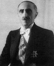 The Albanian prime minister Shefqet Verlaci, who approved the settlement of Italian colonists in 1940
