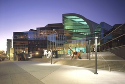 The Kentucky Center in Downtown Louisville