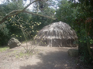 Replica of a Tongva ki