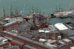 Portsmouth historic dockyard, 2005
