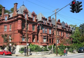 Old Louisville is the largest Victorian Historic neighborhood in the United States.