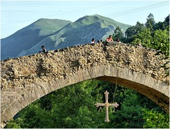 The Roman Bridge of Cangas de Onís