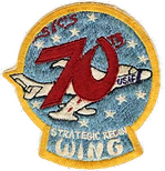 70th Strategic Reconnaissance Wing patch (unofficial)