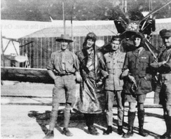 Members of the Australian Flying Corps in 1916