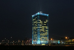 The main administration building of Avtovaz in Togliatti
