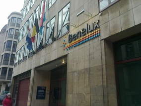 The Benelux Union office in Brussels